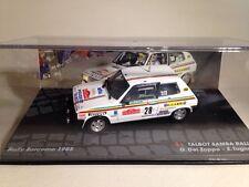 Talbot Samba Rallye G.Del Zoppo - E.Tognana  Rally Sanremo 1983 1:43 Scale New