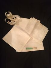 "Vintage! Unused ""Mayflover"" Irish Linen Double Damask Table Cloth & 6 Napkins"