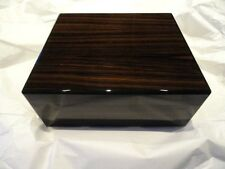 Elie Bleu Macassar Ebony Humidor 50  Count new in original box