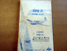 1967 Mooney Super 21 Model M20E Owner's Manual