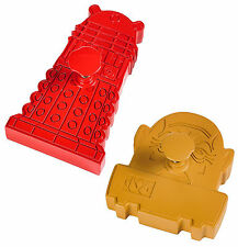 DR WHO DOCTOR WHO BAKING DALEK AND SONTARAN COOKIE CUTTERS