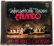 Unforgettable Tangos - Malando & His Tango Orchestra (CD 1984 Philips) W.Germany
