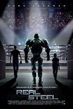 Real Steel Double Sided Original Movie Poster 27x40 inches
