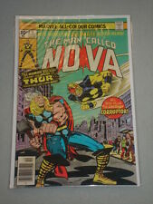 NOVA #4 VOL 1 MARVEL COMICS CLASSIC THOR BATTLE DECEMBER 1976
