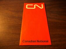 MARCH 1975 CANADIAN NATIONAL TICKET ENVELOPE