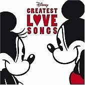 DISNEY'S - GREATEST LOVE SONGS CD - NEW CD