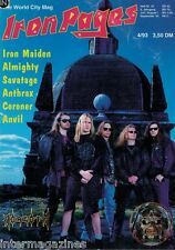 Iron Pages 4/1993,