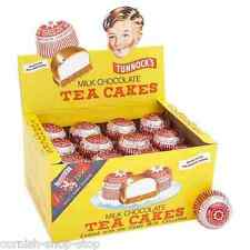 TUNNOCK'S MILK CHOCOLATE TEA CAKES...WHOLE RETAIL BOX OF 36 CLASSIC TEA CAKES!
