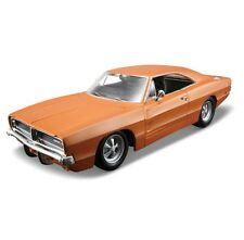 MAISTO Assembly Line 1969 DODGE CHARGER 1:24 Die Cast Metal Model Kit