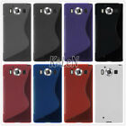 S Line Gel TPU Silicone Skin Cover Case Shell For Microsoft Nokia Lumia Phones