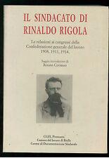 IL SINDACATO DI RINALDO RIGOLA CGIL PIEMONTE  1997 SINDACATI CGIL