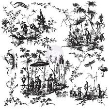 "Prima Marketing Inc: Iod Decor Stamps - ""Toilechinoiserie"""