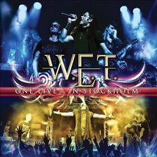 One Live: In Stockholm [Box] by W.E.T. (CD, Feb-2014, 3 Discs, Frontiers...