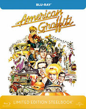 AMERICAN GRAFFITI (Richard Dreyfuss) Blu-ray Disc, Steelbook U.K. NEU+OVP