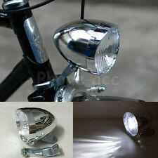 3 LED Retro Headlight Vintage Bicycle Bike Front Light Cycling Fog Headlamp Lamp
