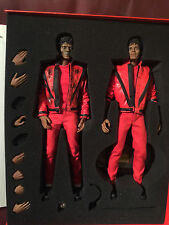 Hot Toys TWO FIGURES Michael Jackson THRILLER 1/6 Scale - UK Seller