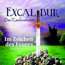 EXCALIBUR - DAS ZAUBERSCHWERT - TEIL 2: IM ZEICHEN DES FEUERS  CD NEU