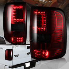 For 2004-2008 Ford F-150 F150 Styleside Body Red/Smoke LED Rear Tail Lights Lamp