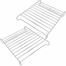 2 Chrome Oven Shelf For Belling Flavel Blomberg Cooker Plate Cooling Rack Stand