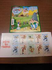 Frankreich Block 123 Asterix + MH 4042-4044 C Spirou postfrisch aus 2006+2009