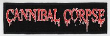 CANNIBAL CORPSE SUPERSTRIP PATCH / SPEED-THRASH-BLACK-DEATH METAL
