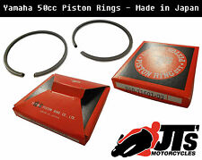 PISTON RINGS YAMAHA FS1E FS1 FS1SE FS1-E ALL 0.50 OVERSIZE MADE IN JAPAN 40.50