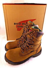 "New RED WING EH Waterproof 2381 8"" Work Boots Women Sz 7 D (US) RETAIL $189"