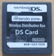 Nintendo Zone Wireless Distribution Box DS Card NOT FOR SALE VERY RARE NFR