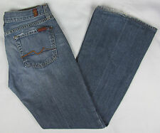 Womens 7 For all Mankind Flare leg jeans USA Made – Blue - Size 29