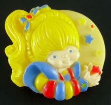 Vintage Rainbow Brite Night Light Nite Lite 1983 Tested & Working! 2.5""