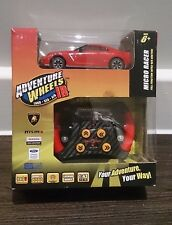Adventures Wheels 1:43 Scale IR Infra-red Controlled Red Micro Racer Car Nissan