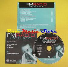 CD FM RADIO EVOLUTION 6 compilation PROMO 2003 BANGLES HORNSBY VAN HALEN (C3*)