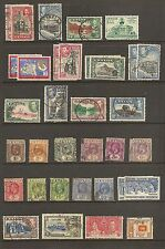 CEYLON USED - 28 Different as shown      (R5328)