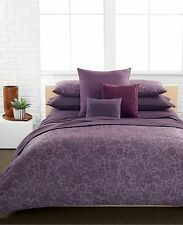 Calvin Klein Somerset Violet 3PC King Comforter  Set   NIP