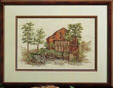 """""""Fall's Mill"""" Color Charts cross stitch leaflet #10201 Water Wheel Tennessee OOP"""