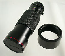 Tokina AT-X apo SD Canon FD 4/100 -300 100-300 100-300 mm f 4 ADAPT a7 MFT Nex Top