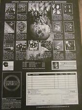 Kiss, Merchandise, Full Page Vintage Promotional Ad