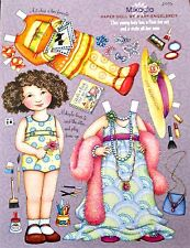 MARY ENGELBREIT Mag. Paper Doll, Mikayla, Feb./March 2006, Uncut