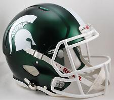 MICHIGAN STATE SPARTANS Riddell SPEED Football Helmet MSU (SATIN GREEN)