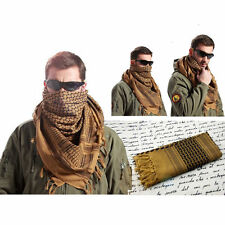 MFR Arab Shemagh Kaffiyeh Turban Palestine Wrap Scarf Shawl Military Tactical