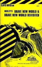 Cliffsnotes BRAVE NEW WORLD Aldous Huxley Cliffs notes