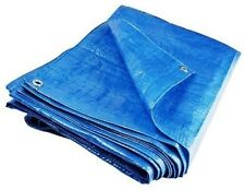 6 X Heavy Duty Lightweight Tarpaulin Ground Sheet Polyethylene Waterproof Cover