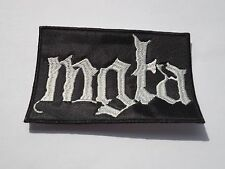MGLA BLACK METAL EMBROIDERED PATCH