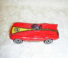HOT WHEELS JAGUAR D RED SPORTS CAR 1997 RACING