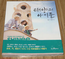 ONEW KEY TAEMIN of Shinee in Barcelona CHILDREN OF THE SUN ESSAY BOOK SEALED