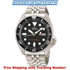 SEIKO SKX007K2 SKX007KD Automatic Diver Scuba 200m Silver Men's Watch from Japan
