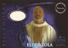 "Charmed Conversations: PWCC6 James Avery ""Elder Zola's Robes"" White Costume Card"
