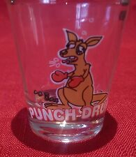 PUNCH DRUNK Novelty Collectable Shot Glass