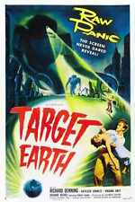 Target Earth Poster 01 Metal Sign A4 12x8 Aluminium