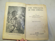 RARE Antique 1914 The Strength of the Strong by Jack London Book Fiction